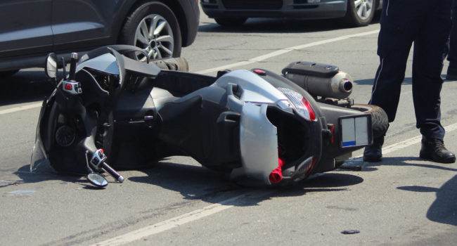 accident route scooter victime